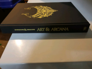 D&D Art and Arcana special edition cover Dungeons Dragons