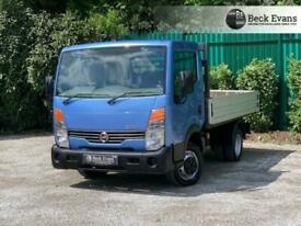 2013 13 NISSAN CABSTAR 2.5 35.14 SHR C/C DROPSIDE 136 BHP NO ADDED VAT TO PAY D