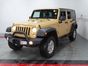 2014 Jeep Wrangler Unlimited Sport   - SiriusXM - $223.35 B/W