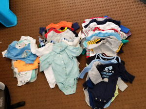 baby boy clothes nb-6 months