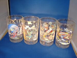Disney Glasses - two sets of four each Kitchener / Waterloo Kitchener Area image 1