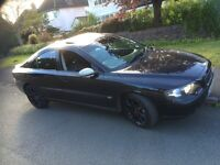Volvo S60 automatic 2.4 turbo diesel full black leather seat with heated seat 11 months mot £1795