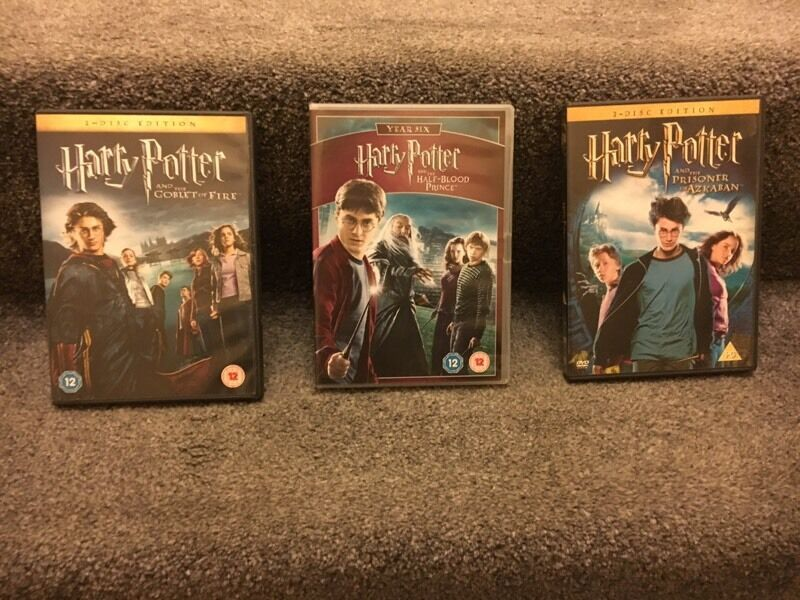 Harry Potter x3 Sets of DVDs