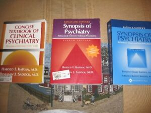 4 PSYCHIATRY TEXTBOOKS IN EXCELLENT CONDITION