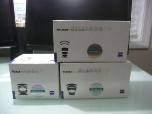 Zeiss ZF.2 Prime Lenses - Nikon Mount