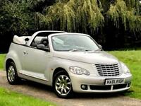 2007/57 CHRYSLER PT CRUISER CONVERTIBLE 2.4 PETROL RHD AUTO LIMITED, 31K MILES