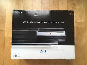 Playstation 3 PS3 CECHA01 PS2 PS1 500 GB Box Backward compatible