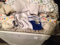 Rearz newborn size cloth diapers and covers
