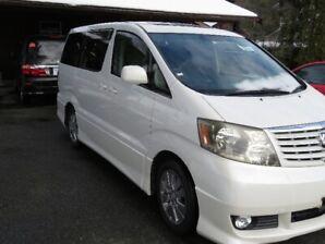 Toyota Alphard 8 Seater Mini Van