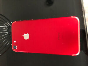 IPhone 7 128G special edition Red unlocked