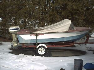1970 Crestliner Mustang/1978 35hp Evinrude/Canvas Top/Elite4 GPS