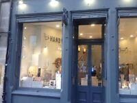 Part-time sales assistant for city centre Jewellery shop
