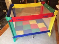 Graco travel cot bed