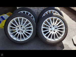 Mercedes Mags/Michelin Tires 225/45/17 for C-Class