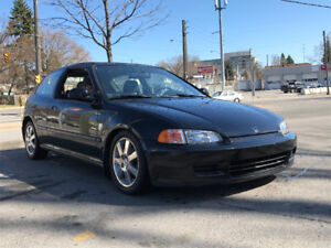 WANTED  1992-1995 HONDA CIVIC HATCHBACK ORINGAL PAINT NO RUST