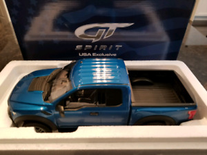 1:18 Resin not Diecast GT Spirit Ford F-150 Raptor Blue BNIB