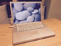 "Apple Mac Laptop G4 PowerBook 15"", 1.33GHz, 2GB RAM, very good condition, original Apple charger"