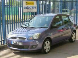 image for 2006 06 FORD FIESTA 1.2 ZETEC 16V 5D 78 BHP. ALLOYS-8 SERVICES-PERFECT 1ST CAR.