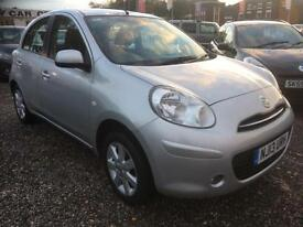2013 NISSAN MICRA 1.2 Acenta 5dr CHEAP INSURANCE