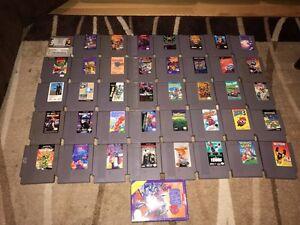 Lot NES,SNES,SEGA,GAMEBOY,GBA,N64 Games Controller Accessories