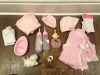 Annabel baby cloths and toys