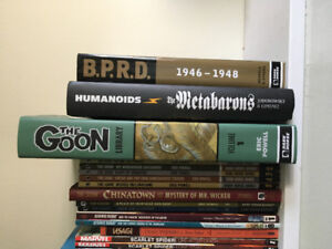 Dark Horse comics, Metabarons, and others