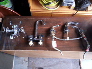 Faucets of all kinds - Robinets pour éviers