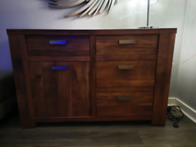 Tv cabinet and side table