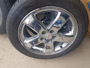 RIMS AND TIRE BRAND NEW FOR PONTIAC G 6