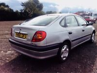 **ONLY DRIVEN 20K MILES** TOYOTA AVENSIS 1.8 GS 5DR + 1 HUSB&WIFE OWNR + AC/3KEY + IMMACULATE CAR!