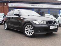 BMW 1 SERIES 118D ES 6 Speed 120BHP (black) 2006
