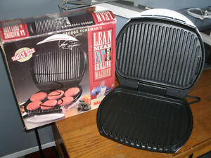 George Forman Lean Mean Grilling Machine