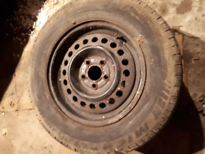 Snow tires on rims 300 or best offer