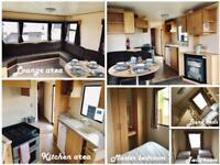 REDUCED STATIC CARAVAN WITH 3 BEDROOMS FOR SALE IN NORFOLK