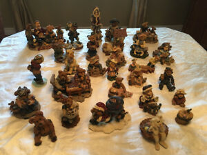 Boyd's Bears. Years of collecting! 28 pieces. Resin. Authentic.