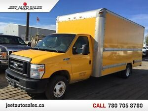 2011 Ford Econoline Commercial Cutaway 16 Ft Cube Van!! Low Mile