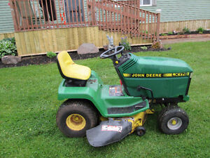 For Sale 14 hp. John Deere RideOn Lawnmower L X 176 .