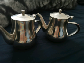 Stainless teapots