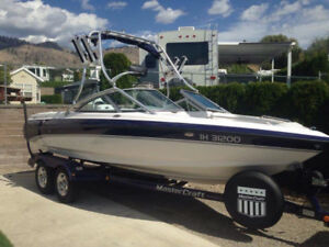 2003 Mastercraft Maristar 210 VRS with X10 Factory Tower/Perfect