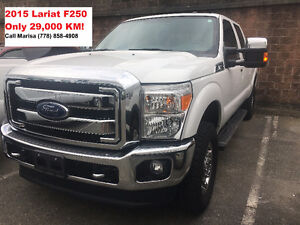 2015 F-250 Lariat- Only 29,000 KM!