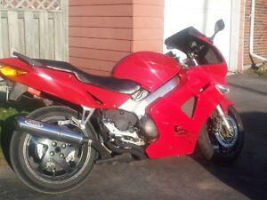 1999 Honda VFR 800FI With lots extra's. OR BEST OFFER.