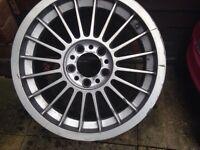"Bmw alpina 17"" alloy wheel (genuine)"