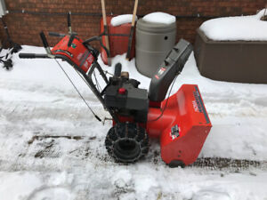 "Noma 10HP 27"" snowblower.   Electric start."