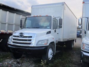 2012 Hino 268 with 24ft Dry Freight Box and lift gate for sale!