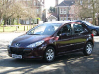 Peugeot 307 1.6 S**GENUINE LOW MILEAGE CARS - 53,000**PSH + CAMBELT 2016**
