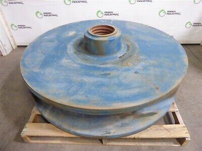 Surplus 50 686108ps High Chrome Iron T5 3 Vane Impeller For Metso Slurry Pump