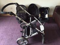 Britax Vigour 4+ Travel System - pram / pushchair / infant carrier