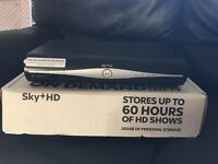 Sky +HD Box with Remote