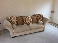 3 seater sofa and 2 seater to match