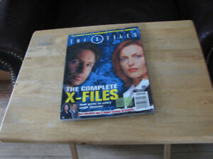 Sci-Fi magazines, Star Trek, Star Fleet, X-Files.